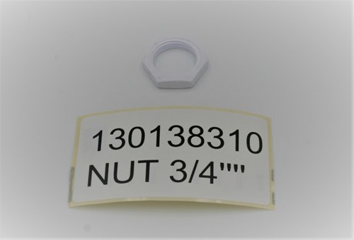 "NUT 3/4"""" ** 130138310"