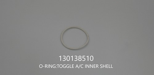 O-RING:TOGGLE A/C INNER SHELL ** 130138510