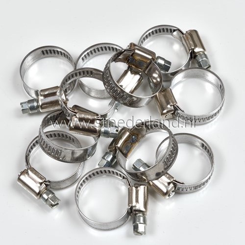 STAINLESS STEEL CLAMPS 19-28 9MM ** 143147532